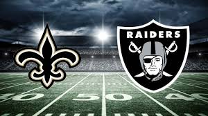 Raiders vs Saints